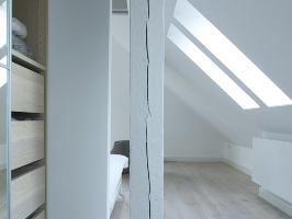 Dachgeschossausbau Hamburg Othmarschen Sanierung Umbau Interior